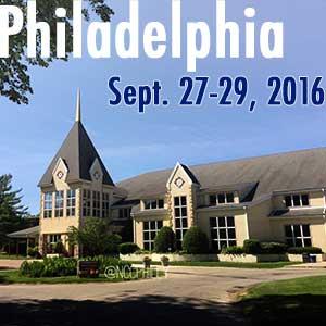Philadelphia - September 27-29, 2016