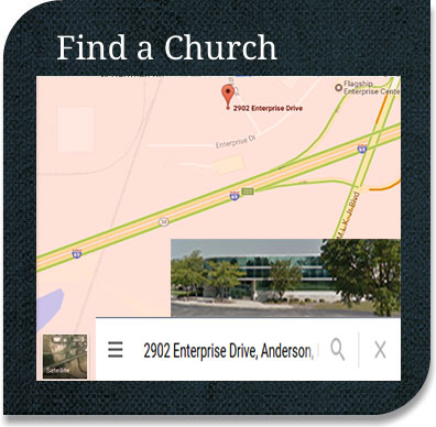 Click to find a church