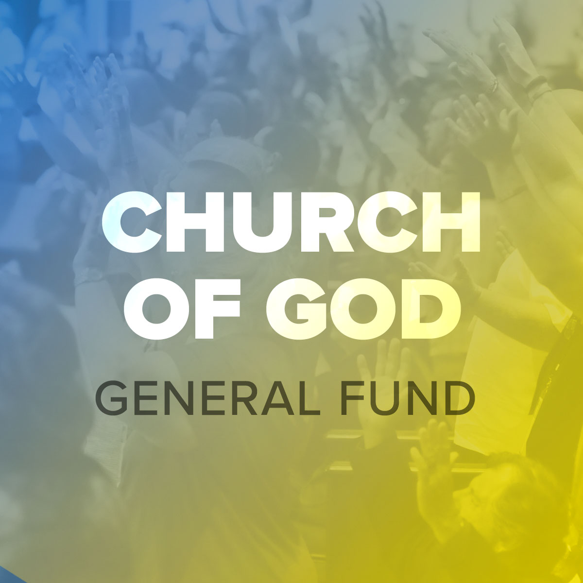 CHURCH OF GOD – GENERAL BUDGET