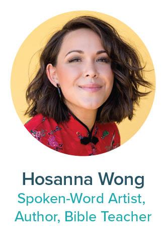 Hosanna Wong Spoken-Word Artist, Author, Bible Teacher